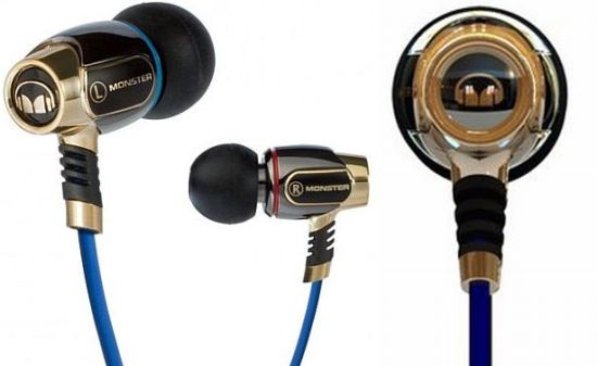 Monster Miles Davis Trumpet - The music of Miles Davis echoes in these in-ear headphones. The design is based on a trumpet mouth-piece that brings forth textures and complexities of jazz music.