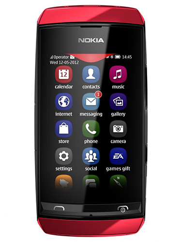 Nokia Asha 306 (Source: Nokia)