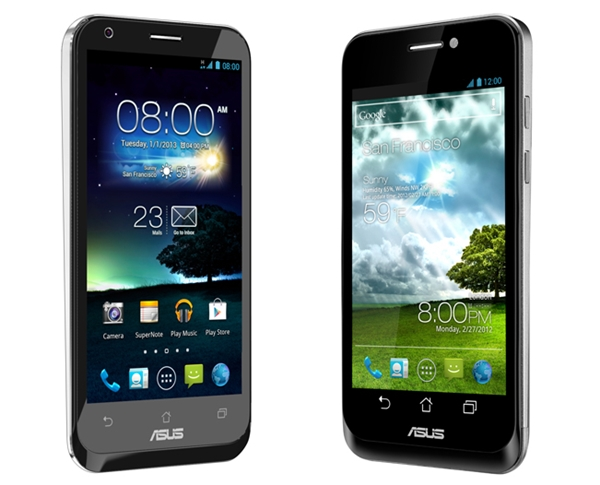 Introducing the new ASUS PadFone 2 (left) and the original PadFone (right).