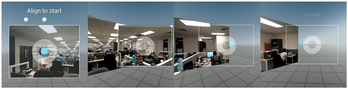 This is how you take a photo sphere on the LG Nexus 4.