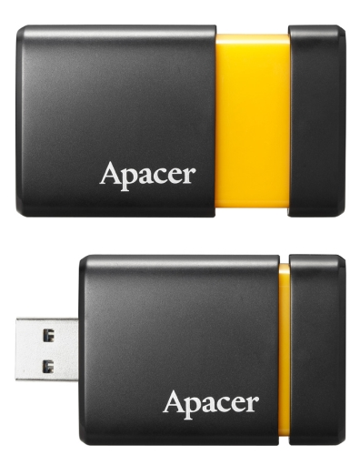 The Apacer AM230 also has a retractable design so when not in use, the USB 3.0 connector won't be exposed, keeping it safe from damage