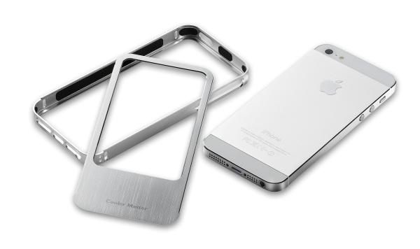 Cooler Master's new Aluminum Bumper is made from finely crafted, aircraft-grade aluminum to retain that classy feel on the iPhone 5