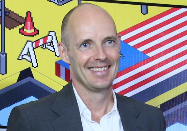 Henrik Clausen, CEO at DiGi Telecommunications Sdn Bhd. Henrik spoke highly of his company's initiative in empowering Malaysians to develop apps that would benefit other Malaysians.