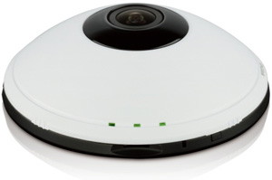D-Link DCS-6010L Wireless Fisheye IP Camera