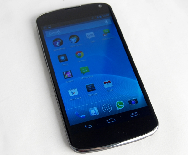 The LG Nexus 4.
