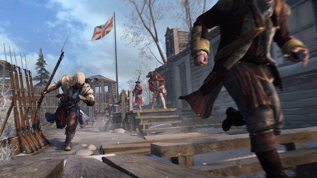 Screenshot of Assassin's Creed III (Image source: NVIDIA)