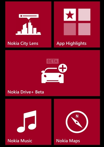 Presenting to you the new Smart Screen. The Live Tiles are slightly more customizable this time round with three sizes available. Otherwise, the experience and Windows Phone 8 in general, feels almost like the experience on Windows Phone 7/7.5.
