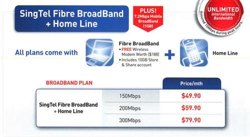 nice starhub home broadband plan. SingTel Fibre Broadband Plan  Home Line Packages Plans StarHub SITEX 2012 Telco Tablets