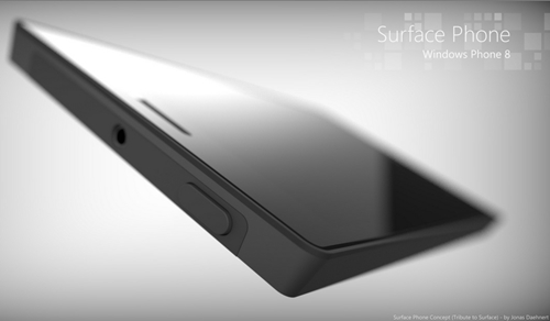 Surface Phone concept. <br> Image source: Jonas Daehnert