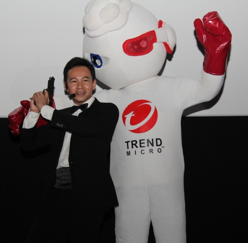 Besides the launch, Trend Micro also held a screening of the blockbuster James Bond movie, Skyfall for their Facebook fans, members of the media and their partners. Hence, their launch gambit also had something to do with the super spy