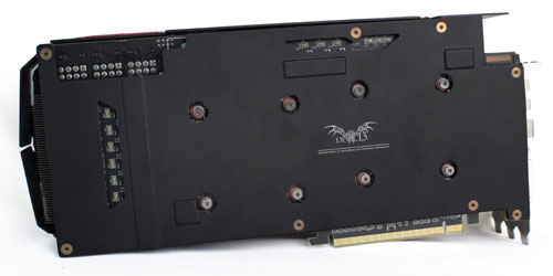 The custom PCB is protected by a metal backplate.