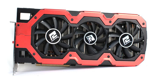 The Devil 13 uses a triple-fan cooling system, with two 85mm fans sandwiching a 75mm one in the middle.