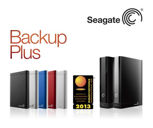 Seagate Backup Plus Family of Hard Drives