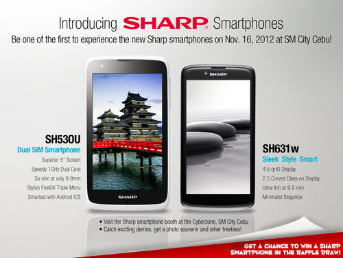 Sharp Launches Two Smartphones in Cebu City - HardwareZone