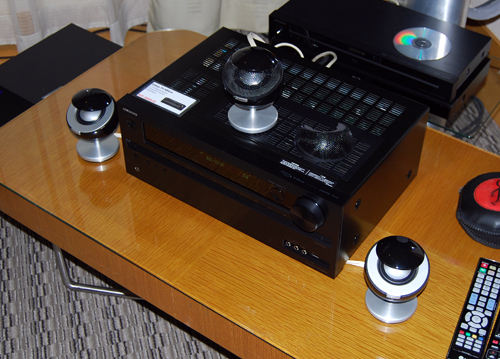 Here we have three units of the Jamo 360 S 25 in a 3.0 configuration intended for providing a personal listening experience in smaller environments.