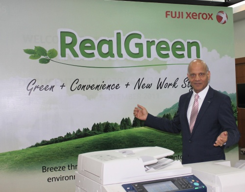 Sunil Gupta is now the President for Fuji Xerox Asia Pacific Malaysia Operations