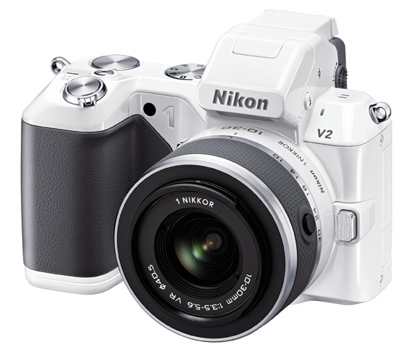 The Nikon V2 won't be winning beauty pageants anytime soon.