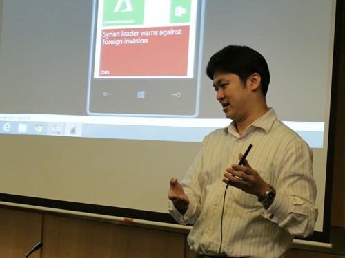 Microsoft's Windows Phone 8 introducing us to the exciting new features in Windows Phone 8.
