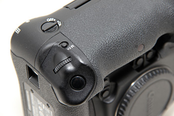 The vertical shutter release also comes with the new customizable Multi-function button.