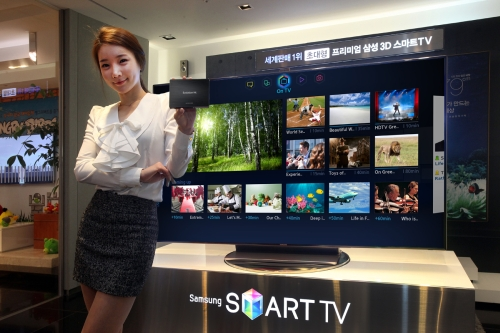 Samsung's Evolution Kit allows existing Samsung Smart TV owners to upgrade their TVs without having to buy a new set