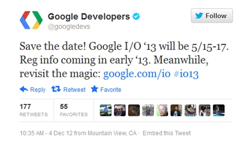 Source: @googledevs (Twitter)