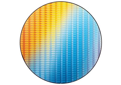 An 'Ivy Bridge' silicon wafer. (Image Source: Intel)