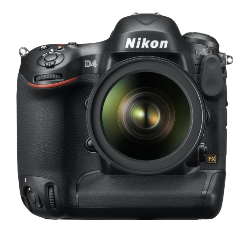 The Nikon D4 is Nikon's flagship FX-format camera