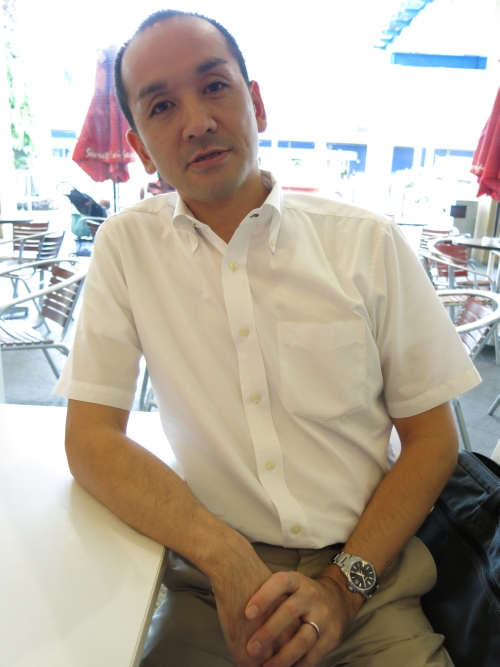 Osamu Tomita, Country Manager of Buffalo Southeast Asia & Oceania Sales Department
