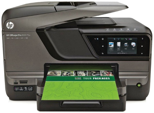 Hp officejet pro 8600 plus top tier printing for the for Best home office hp printer