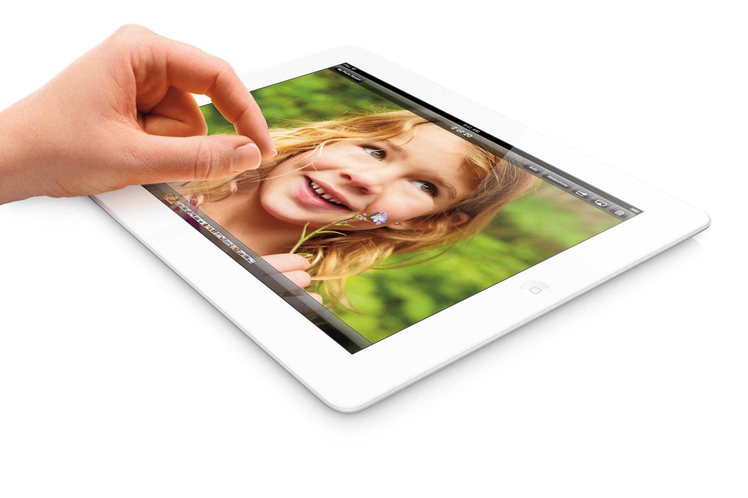 Apple launched the fourth generation iPad in October 2012. <br> Image source: Apple