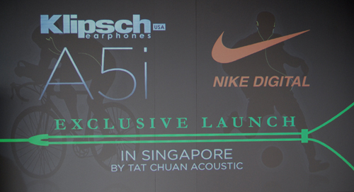 Klipsch launches the the A5i earphones for sport enthusiasts.