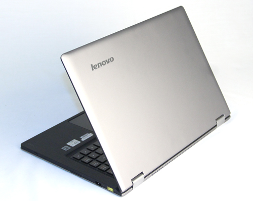 The Lenovo Ideapad Yoga looks like the U300s, but even though the coating looks aluminum, it's not. It's more durable than aluminum, and is highly scratch resistant.