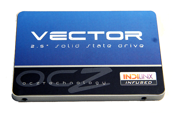 The OCZ Vector comes in a stunning blue case that feels solid and sturdy. It also comes in an Ultrabook-friendly 7mm form factor.