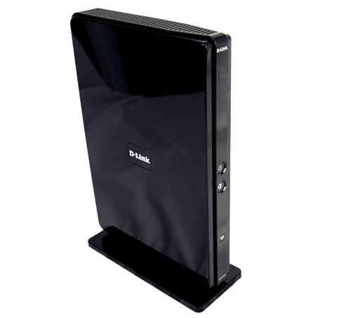 "D-Link has shed its penchant for ""flatbed"" routers as you can tell by the tower-like design of the DIR-865L, although it's less radical than the DIR-826L's cylindrical profile."