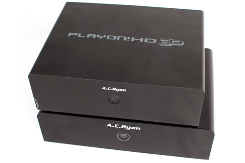 The Playon!HD 3D is a bit smaller than the HD2. But it has more features!