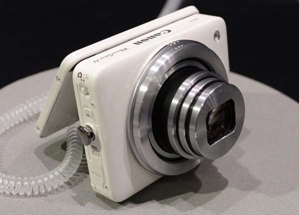The PowerShot N attracted more than its fair share of young ladies