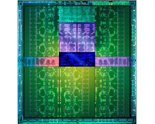 Photograph of the Kepler GK110 die. (Image Source: NVIDIA)