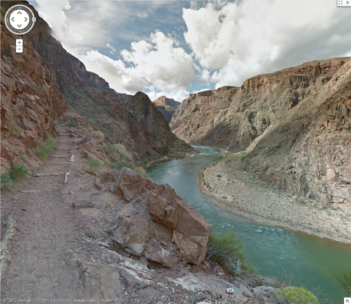 The Colorado River, one of the many impressive scenes in the Grand Canyon