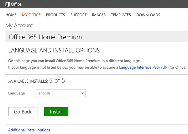 installing office 365 home premium subscribing installing office 365 home premium. Black Bedroom Furniture Sets. Home Design Ideas