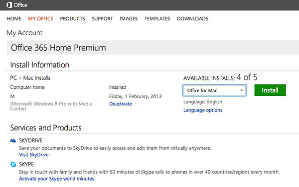 Installing office 365 home premium subscribing - How to access my office computer from home ...