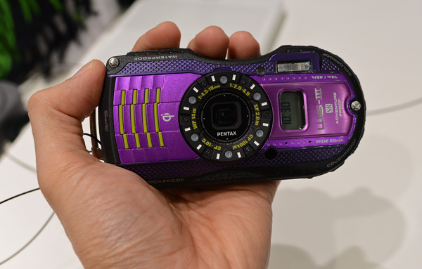 Pentax's WG series looks more avant-garde than most digital compacts.