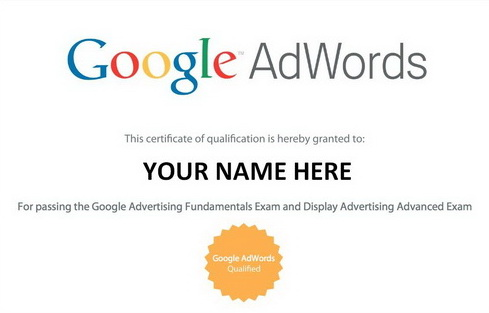 Get Google AdWords Certification, Get a Chance to Own a Smart Device ...