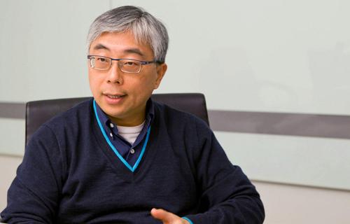 Acer's President, Jim Wong. Source: Bloomberg