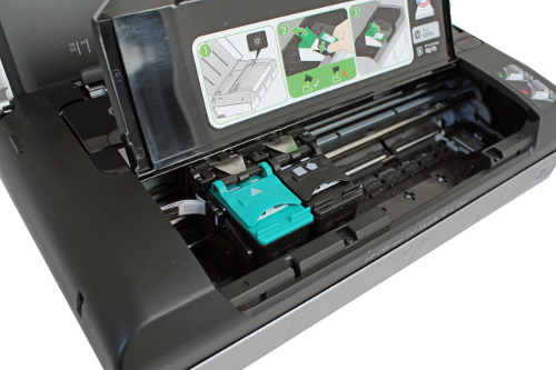 Unlike some portable printers which use thermal transfer technology to print, the HP Officejet 150 is a proper inkjet printer that's just shrunk down to size.