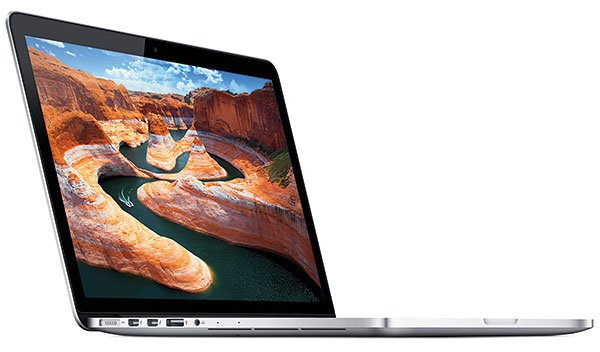 The Apple 13-inch MacBook Pro with Retina display now starts at S$1,988. (Image source: Apple.)