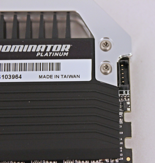 The 8GB Dual Channel Memory Kits : 8GB DDR3-2133MHz Memory