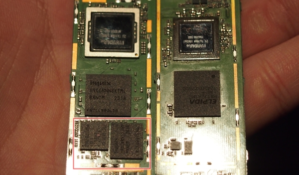 On the left is the Tegra 4 processor with its GPU and its companion data modem. As you can see on the right, NVIDIA integrates both the GPU and data modem on a single chip in Tegra 4i.