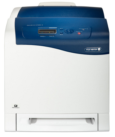 Color laser printers are much larger than the monochrome models.