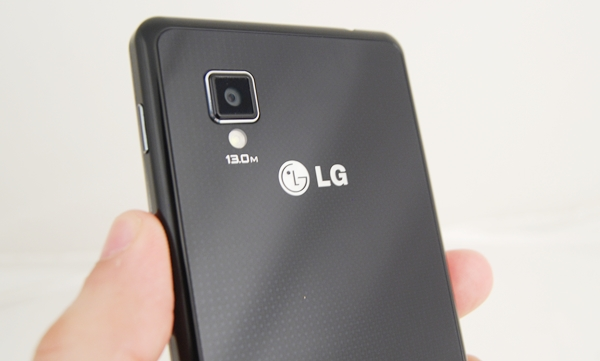 Crystal Reflection Method, a patented technology is used to display the sparkling pattern on the rear glass panel of the LG Optimus G.