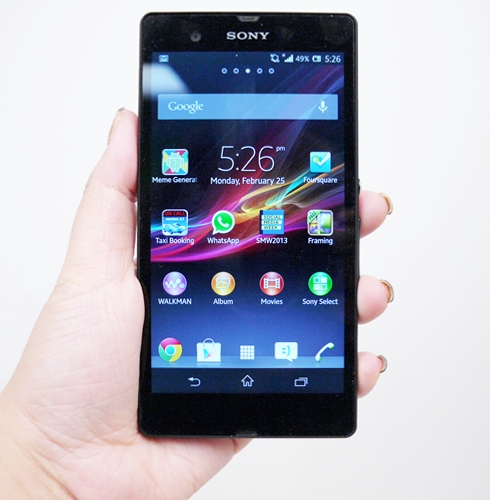 Welcoming Sony Mobile's quad-core, 5-inch contender.